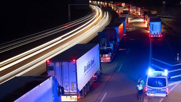 Die Krise der Lkw-Fahrer