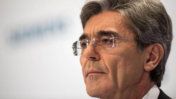Siemens-Chef enttäuscht: Hatten das bessere Angebot