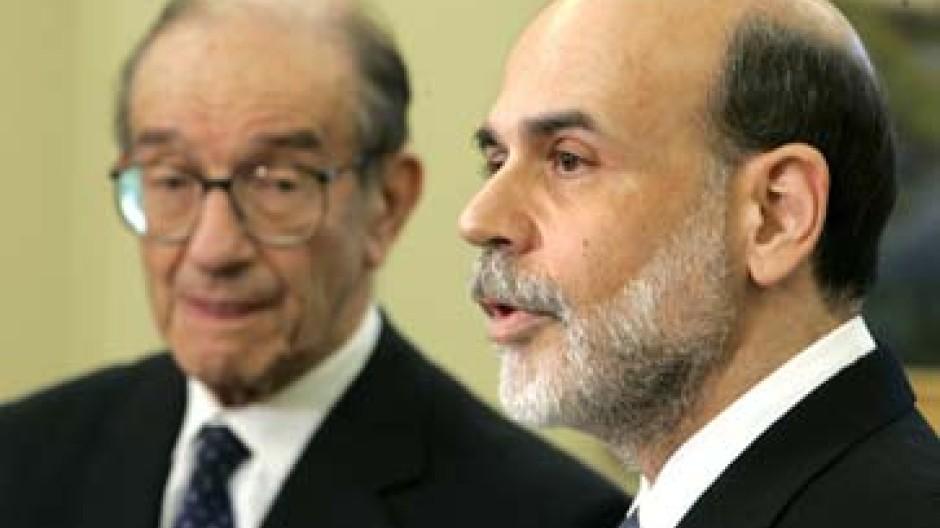 Große Fußstapfen für Ben Bernanke