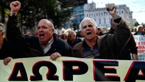 Der tägliche Überlebenskampf in Griechenland