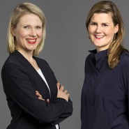 Zwei Köpfe, eine Stelle: Katrin Bense und Kerstin Unger