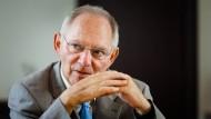 Wolfgang Schäuble (70) ist seit 2009 Bundesfinanzminister.