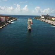 Aufbruch in Curacao