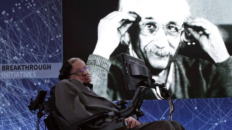 Stephen Hawking wird an diesem Sonntag 75 Jahre alt.
