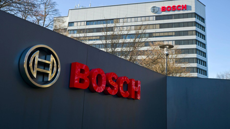 Die Bosch-Zentrale in Gerlingen bei Stuttgart