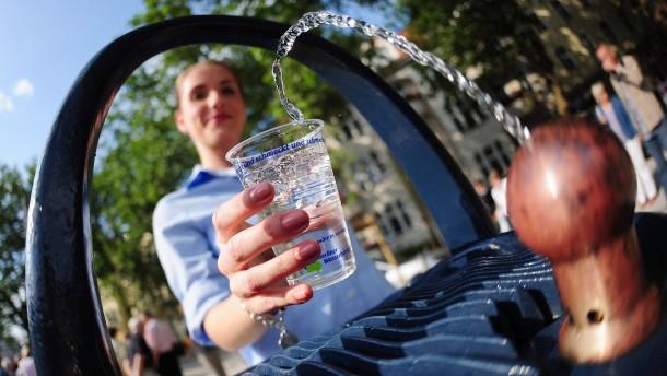 Deutschland hat Wasser im Überfluss