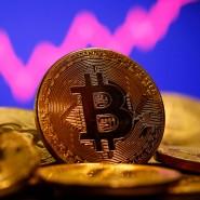 Der Preis der Digitalwährung Bitcoin ist sehr volatil.