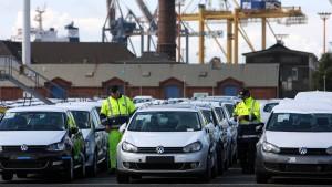 Deutsche Autoindustrie attackiert Brexit-Pläne