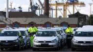 Knapp ein Fünftel der gesamten deutschen Autoexporte gehen ins Vereinigte Königreich.