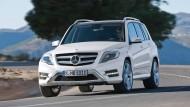 Ein Geländewagen der Daimler AG: Der Mercedes GLK 350 – im Moment sehr beliebt in Deutschland.