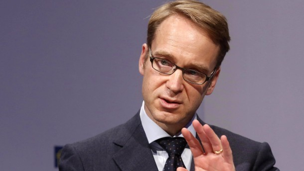 Bundesbankpraesident will Vertragsaenderung fuer Bankenaufsicht