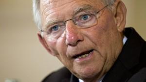 Schäuble: Soli wird nicht ersatzlos verschwinden