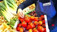 Besonders Gemüse und Obst sind teuer.