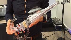 Eine Geige aus dem 3D-Drucker