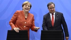 Merkel sagt 500 Millionen Euro für saubere Luft zu