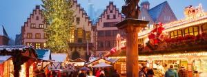Feiern nach Dienstschluss: Alljährliche Hochstimmung auf dem Frankfurter Weihnachtsmarkt.