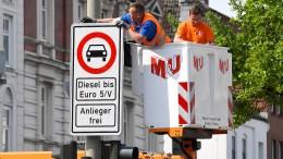 Hamburg verbannt Diesel-Fahrzeuge