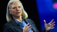 IBM-Chefin Ginni Rometty trifft sich heute ebenfalls mit dem künftigen amerikanischen Präsidenten.