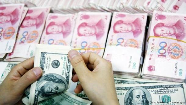 China sorgt für Aufwertung des Renminbi
