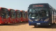 Express-Busse in Südafrika