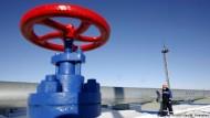 Warten auf Entscheidung zu Gasprom