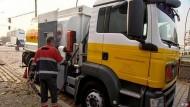 Heizöl-Lieferanten fahren ohne Pause
