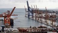 Athen und die Privatisierung des Hafens von Piräus