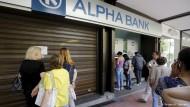 Eine tickende Zeitbombe im griechischen Bankensystem