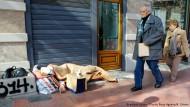 Ein Leben am Rande der Armut