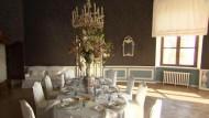 Hohe Tischkultur auf Schloss Nymphenburg