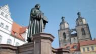 Lutherbusiness für Wittenberg nicht nur Segen