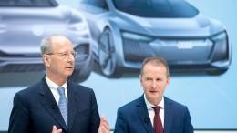 Strafverfahren gegen VW-Spitze soll eingestellt werden