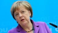 Merkel fordert Gesetzestreue von Nachrichtendiensten