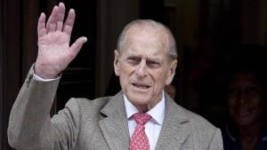 Prinz Philip ist kein Pantoffelheld
