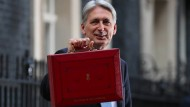 I want your money: Der britische Finanzminister Philip Hammond.