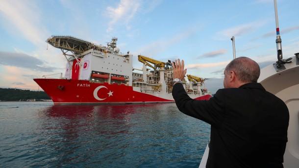 Erdogan verkündet neuen Erdgasfund im Schwarzen Meer