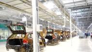 BMW-Werk in Shenyang in Nordostchina