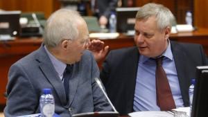 """""""Wir lassen uns von Griechenland nicht erpressen"""""""