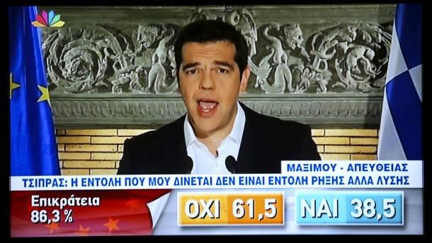Tsipras will über Schulden verhandeln