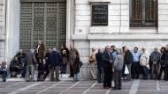 Athen befürchtet bei Rentenkürzung neue Rezession