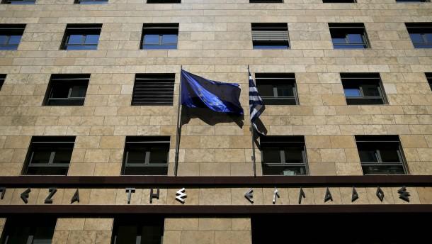 Ela-Kredite in Athen erreichen fast Rekordniveau