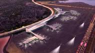 Flughafen La Guardia wird renoviert