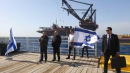 Ein Mann macht Israel zum Gasförderland
