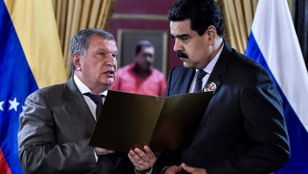 Rosnefts riskante Venezuela-Wette