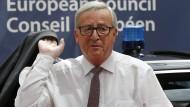 Juncker bestätigt Ausschluss nationaler Parlamente