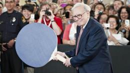 Eine Cash Machine namens Warren Buffett