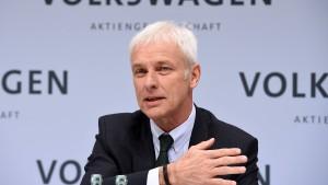 VW-Chef Müller will Diesel-Image verbessern