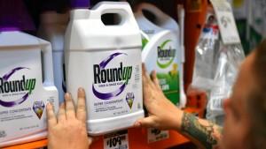 Das nächste Duell um Glyphosat beginnt
