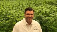 Ben Ward wuchs als strenger Baptist auf, heute repräsentiert er die ambitionierte Cannabis-Branche.
