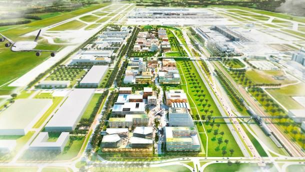 Der Flughafen München baut sich eine Ideenfabrik